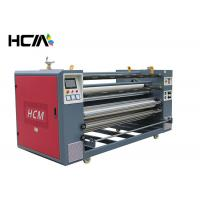 Quality Garment Printing Machine Rotary Heat Press Sublimation Rewinding Function / Safety for sale
