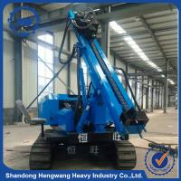 China Step piling machine low price wide used pile driver for sale on sale