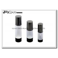 Quality Professional White Head Cap Empty Cosmetic Bottles Material ABS for sale