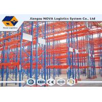 Quality Heavy Duty Metal Storage ShelvesWarehouse , Cold Rolled Steel Plate Narrow Aisle Pallet Racking for sale