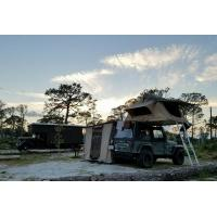 Buy Water Resistant 4x4 Roof Top Tent Easy Operate With Side Awning CE Certificated at wholesale prices