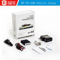 China Real-Time Car GPS Tracker Car Vehicle GSM GPRS System Spy Device rf-v9 software gps tracker rf-v9 micro gps car tracker on sale