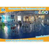 Buy cheap TPU/PVC Adults Inflatable Bubble Ball Heat sealed For Soccer Bubble Club, Inflatable Football Games product