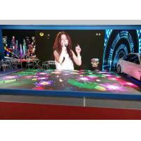 Quality Waterproof Led Stage Screen Rental P6.25 Interactive LED Dancing Floor Display Heat Dissipation for sale