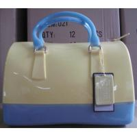 Quality 2013 fashion silicone lady handbag candy color jelly handbag hot sale silicone jelly bag f for sale