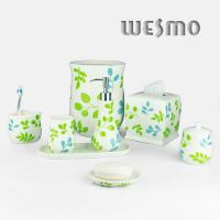 Buy cheap Natural Theme To Bathroom Decor Porcelain Bathroom Accessories (WBC0627A) product