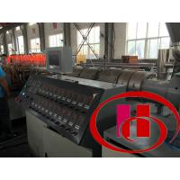 Quality High Performance WPC Extrusion Machine With T- Type Moulds CE Certification for sale