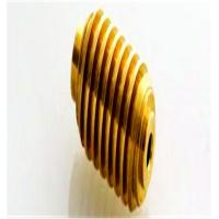 Quality Zn - Plating Surface Copper Bevel Pinion Gear For Step Motor for sale