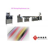 China PVC PET Comb Binding Ring Plastic Strip Making Machine with Stainless steel Machine Material on sale