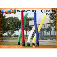 Quality 3M - 5M Inflatable Air Dancer / Man Parachute Nylon Inflatable Advertising Tube for sale