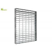 Quality Surface Galvanized Bearing Bar Steel Grating Welded Mesh Section Grate Platform for sale