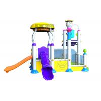 Quality Holiday Resorts Spray Park Equipment Hot Dip Galvanizing Steel Structures for sale