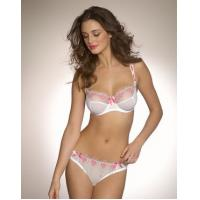 Buy cheap Customized Fashionable Breathable Embroidered Matching Bra And Underwear Sets For Women product