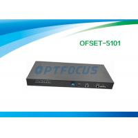 Buy cheap 1 port GPON OLT / EPON OLT 19 in 1U  Stand Alone Box 1 GE TX SFP Combo Ports from wholesalers