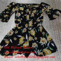Quality Adults Used Womens Clothing Sunflower Logo Second Hand Ladies Dresses for sale