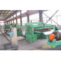 Quality Customized Galvanised Steel Coil Slitting Machine With Uncoiler / Recoiler for sale