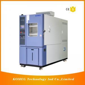 Buy cheap Electronics Machine Rapid Temperature Testing Chamber Semi - Hermetic Compressor product