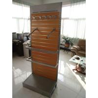 Quality Retail Free Standing Clothes / Hat Rack Product Display Stands With Hooks for sale
