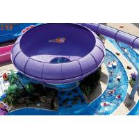 Quality Customized Combine Slide Fiberglass Water Slide For Water Park Equipment for sale
