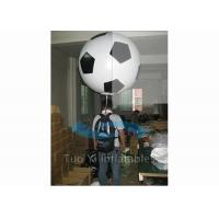 Quality Customized Soccer Shape Backpack Balloon Custom Printed Balloon For Advertisement for sale