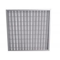 Buy cheap Indoor Residential Pleated Panel Air Filters For Clean Room , High Dust Capacity from wholesalers