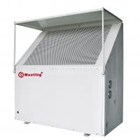 Quality Outdoor Domestic Air Source Heat Pump , Ground Source Heat Pump Compact Structure for sale