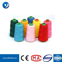 Quality Wholesale Spun Polyester PTFE Dust Collector White Sewing Thread Filament Thread for sale