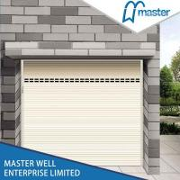 Quality Aluminum Insulated Roller Shutter Garage Doors For Vill / window decorating for sale