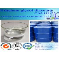 Core Binding Resins Ethylene Glycol Diacetate CAS 111-55-7 EGDA For Foundry Solvent