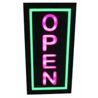 Buy cheap Digital Square LED Open Sign Backlit Illumination Red Blue For Retail Store from wholesalers