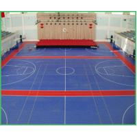 Indoor suspended modular interlock gym sports floor mat for Indoor basketball court for sale