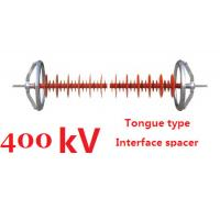Quality 400 kV Composite Interphase Spacer Clevis Type Creepage Distance 14500mm for sale