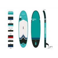 Quality Portable Round 81.2*25*320cm Family Inflatable SUP Paddle Board for sale