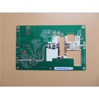 Quality Double Sided High Frequency PCB on RO4003C 32mil (0.813mm) and green soldermask for sale
