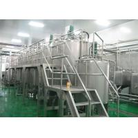 Buy cheap Complete Fully Automatic Bottled Juice Production Line For 2T / D - 500 T / D product