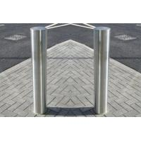 China Outdoor Stainless Steel Bollards / Parking Lot Bollards With Easy Carry Lifting Ring on sale