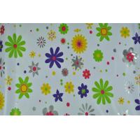 China Eco-friendly Printed PVC Tablecloth With Nonwoven on sale