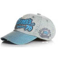 China Fashion teared and washed baseball cap with 3D embroidery patch on sale