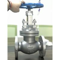 Quality Cast Steel Flanged Globe Valve , Y Type Globe Valve 150LB 300LB 600LB for sale