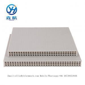 Quality Henan Yao Hnag Alloy Plastic Formwork|Hollow Plastic Formwork|Plastic Formwork Construction|Plastic Formwork 15mm for sale
