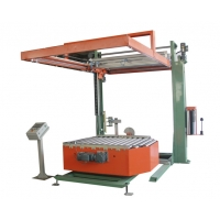 Buy cheap 20T/h OD 260mm Rotary Automatic Pallet Wrapping Machine Use Rotary Stretch from wholesalers