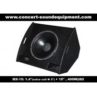 """Buy cheap PA Sound Equipment 400W 3""""+15"""" Plywood Coaxial Stage Monitor For Living Event And Show product"""