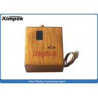 Quality 800MW Miniature FPV Video Link with Digital Display 900Mhz ~ 1200Ghz Wireless AV Transmitter for sale