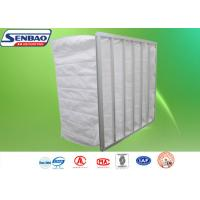 Quality Synthetic Fiber Secondary F5 Pocket Bag Air Filters For Ventilation System for sale