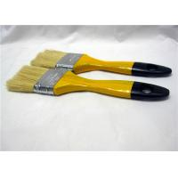 Buy Multifunctional White Bristle Flat Paint Brush For Surface Painting / Cleaning Wall at wholesale prices