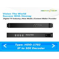 Quality Multi-functional  Digital TV Encoder and Decoder with Two ASI&IP input and two SDI&ASI Ouput for sale