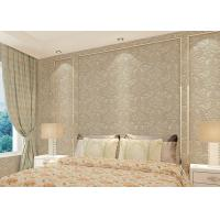 Buy cheap Floral decoration contemporary bedroom wallpaper , Nonwoven modern wallpaper for bedroom product