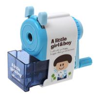 Quality Plastic Manual Pencil Sharpener Fashion Hand Machine Mechanical Stationary Office supplier for sale