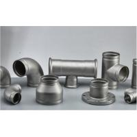 Quality Stainless Steel Grooved Pipe Fittings With Sandblasting / Polishing Surface Treatment for sale