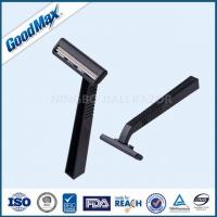 China Smooth Cool Glide Double Blade Razor , Stainless Steel Double Edge Shaving Razor on sale